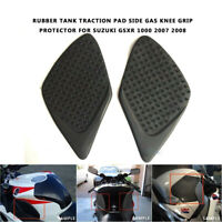 Motorcycle Tank Grips Protection Side Traction Pads for Suzuki GSXR 1000 08/07