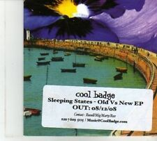 (DP138) Sleeping States, Old vs New EP - 2008 DJ CD