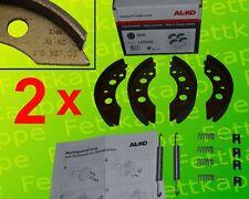 2 x AL-KO Bremsbackensatz 2035 - ALKO Set 72 - 1220328 200x35 - Radbremssatz