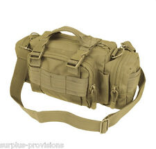 Condor #127 Tactical Deployment Bag Tan - Molle Hunting Pack pouch
