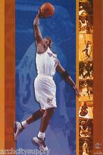 POSTER: NBA BASKETBALL : MICHAEL JORDAN - WIZARDS - FREE SHIPPING ! #3136 LW18 B