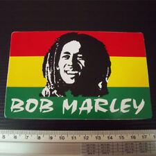 "Bob Marley Reggae Decals Sticker size 3x5"""