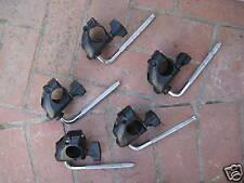 5 Roland mdh-10u tom clamps cymbal rack mounts