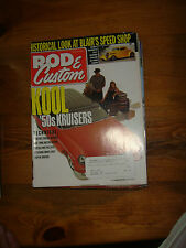 July 2000 ROD & Custom Magazine: KOOL '50s Kruisers, Pontiac Engine Rebuild
