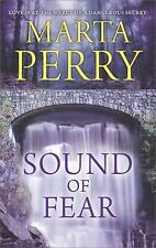 Sound of Fear by Marta Perry (2017, Paperback) New Romance
