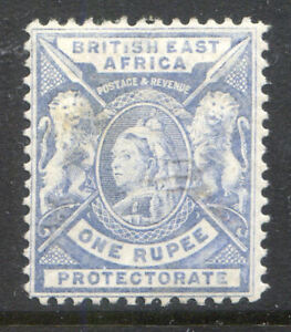 British East Africa 1896-1901 1r pale dull blue mint (2018/11/17#01)