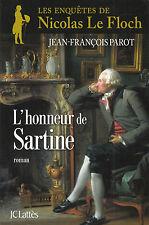 Livre l'honneur de Sartine  Nicolas le Floch Jean-François Parot book