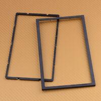 2-DIN/Doppel-DIN, Auto Radio Montage Rahmen, Blech Einbau Rahmen