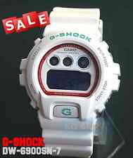 G-SHOCK BRAND NEW WITH TAG DW-6900SN-7 WHITE Digital Resin Band 200M WATCH