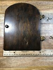 Mantle Clock Back Door                    (Clock Door Lot K1354)