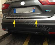 Chrome Trunk Trims For Nissan Qashqai J11 2014-2017 Tailgate Molding Accessories