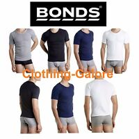 BONDS Raglan Crew Round Neck T Shirt Tee Mens Top Tshirt Navy Black Grey White