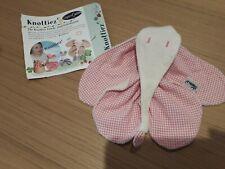 KEPTIN JR en coton organique éléphant jouet knottiez Couette Couverture Rose Vic...