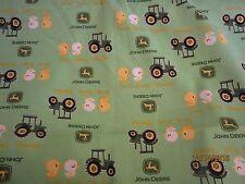 John Deere  baby toddler sheets set  tractors & ducks