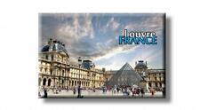 Paris Louvre Museum Foto Magnet Frankreich France Souvenir Fridge