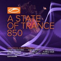 ARMIN VAN & FRIENDS BUUREN - A STATE OF TRANCE 850 (OFFICIAL COMPIL.)  2 CD NEU