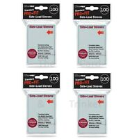 400 Ultra PRO Standard Pro-Fit SIDE-LOAD Sleeves Card Protectors 4 100ct 64x89mm