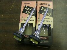 NOS 1950's Aftermarket Hot Shot Antenna Pair Ford Chevrolet Dodge GM 1957 1958 +