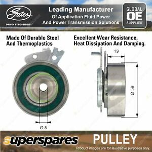 Gates Camshaft Tensioner Pulley for Holden Combo XC 1.6L 62kW 09/02-04/05