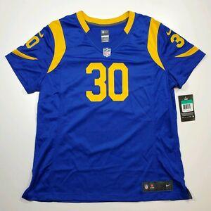 Nike Women's Los Angeles Rams Todd Gurley II #30 Game Jersey XL 698619 423