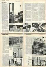1963 Italsider System Building Method, Using Prefabricated Concrete Panels,