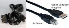 USB Cable+Power Cord Wall Plug for Canon Pixma MX479 MX490 MP830 MG5320 Printer