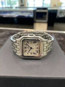 Cartier Stainless Steel Panthere 29mm Quartz Watch 1300