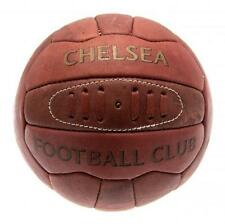 Chelsea Fc Retro Heritage Football Brown Soccer Ball Old Antique Match Game New