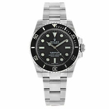 Rolex Submariner 114060 No Date Stainless Steel Automatic Mens Watch