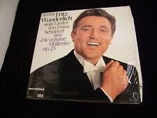 Fritz Wunderlich singt Lieder von Franz Schubert LP