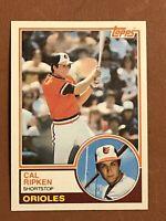 1983 Topps Cal Ripken Jr. Card #163 MINT - Orioles HOF