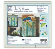 June Tailor Quilt As You Go Insulated Shopper Tote Quilt As You Go Kit