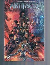 Artifacts Vol 1 by Marz & Broussard Witchblade Darkness TPB 2010 Top Cow Image
