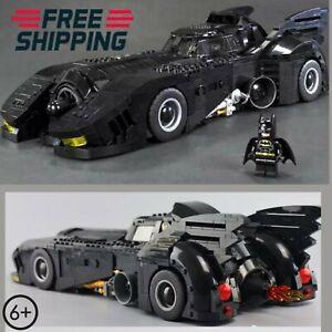 Vintage Batman Batmobile Model Building Blocks Bricks 1778Pcs Compatible set