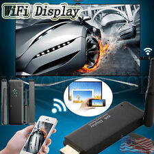 Airplay WiFi Display Dongle Wireless DLAN Miracast Receiver HDMI 1080P Miracast
