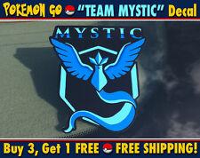 Pokemon Go Team Mystic Blue Team Bumper Sticker Decal JDM