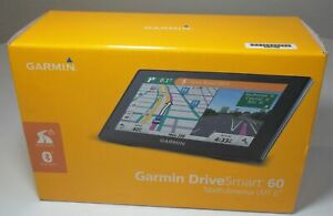 "GARMIN GPS DRIVESMART 60 NORTH AMERICA LMT 6"" IN BOX 2016 USED WORKS"