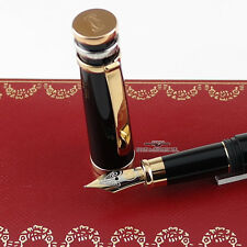 Cartier Trinity Black Composite Fountain Pen - M Nib
