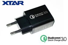New XTAR QC 3.0 18W USB Quick Charge EU Plug Wall Adapter Charger For VC4S, SC2