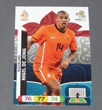 NIGEL DE JONG KNVB NEDERLAND PAYS-BAS FOOTBALL CARD PANINI UEFA EURO 2012