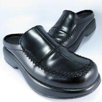 Dansko Slide Clogs Women's Size 7.5M (EU 38) Black Patent Leather Slip-Ons Mules