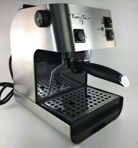 Starbucks Barista Saeco Italy Expresso Machine SIN006 Stainless Works Great