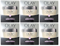 Olay Total Effects 7-in-1 Anti-Aging Night Cream & Moisturizer, 1.7 oz (6 Pack)