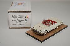 TT 1:43 BELGIUM TRUCKS JUPITER MODELS FORD THUNDERBIRD OPEN 1960 WHITE MIB RARE
