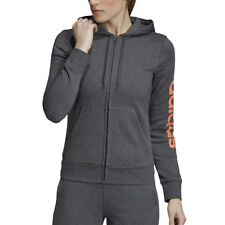 Adidas Felpa Donna Essentials Linear Fleece Nera Taglia L codice Dp2417