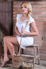 Kurze Damen-Nachthemden & -shirts aus Baumwolle für die Freizeit