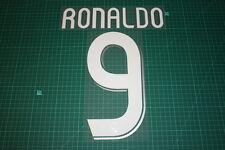 Real Madrid 06/07 #9 RONALDO Awaykit / 3rd Awaykit Nameset Printing
