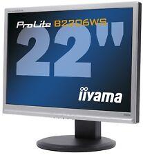 iiyama ProLite B2206WS 56cm 22 Zoll Monitor 16:10 Lautsprecher 2ms VESA Pivot