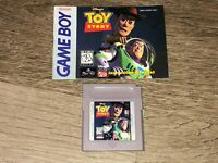 Toy Story w/Manual Nintendo Game Boy Tested Authentic