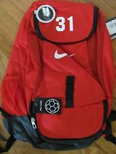 Nike Club Team Soccer Football Futbol Sports Backpack Red #31 Print